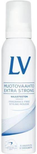 Купить LV, Мусс для волос экстра сильной фиксации без запаха, 150 мл