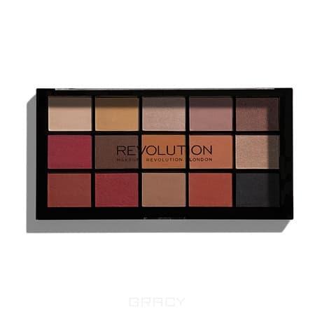 цена на MakeUp Revolution, Палетка теней для век Re-loaded Palette, 15 оттенков (6 вариантов) Iconic Vitality