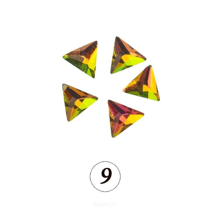 Купить Planet Nails, Цветные фигурные стразы в ассортименте (76 видов), 5 шт/уп Планет Нейлс №9