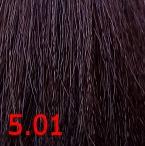 Купить Kaaral, Крем-краска для волос Baco Permament Haircolor, 100 мл (106 оттенков) 5.01 натурально-пепельный светлый каштан