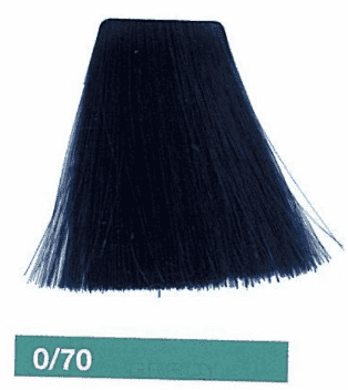 Купить Lakme, Корректирующая крем-краска для волос Collagemix, 60 мл (9 оттенков) 0/70 Синий микстон