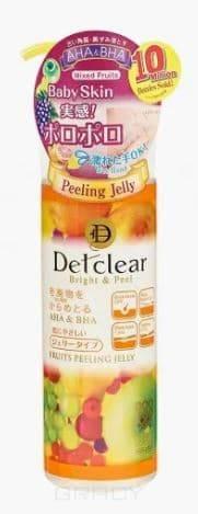 Meishoku, AHA BHA Peeling Gel Mixed Fruits Очищающий пилинг-гель с эффектом сильного скатывания Detclear, 180 мл