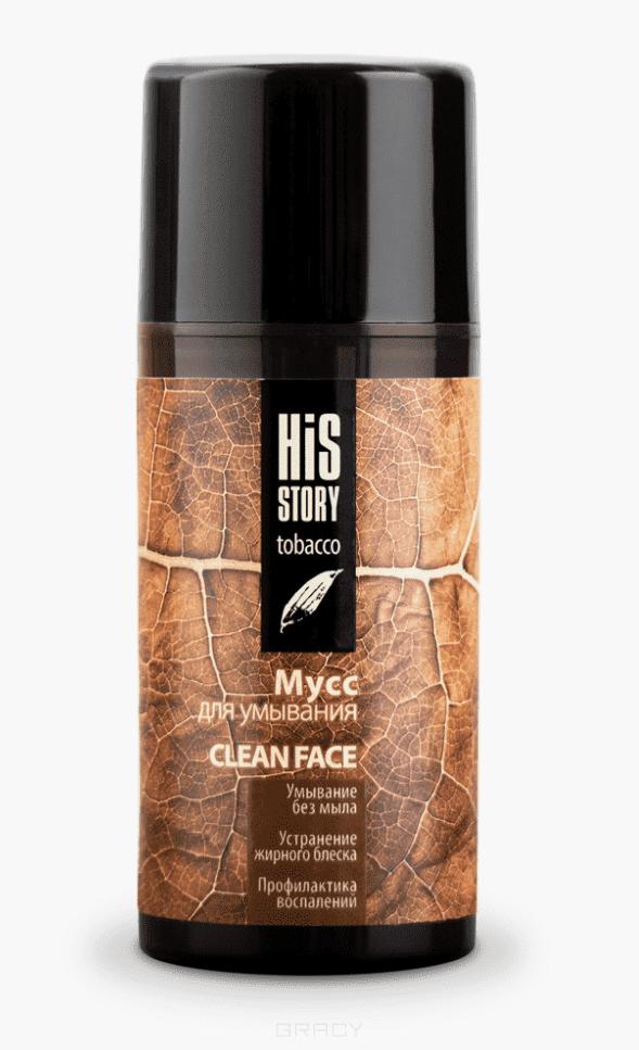 Premium, Мусс для умывания Clean Face His Story, 100 мл пальто alix story alix story mp002xw13vur