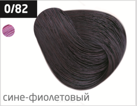 Купить OLLIN Professional, Перманентная стойкая крем-краска с комплексом Vibra Riche Ollin Performance (120 оттенков) 0/82 сине-фиолетовый