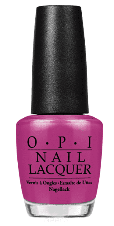 OPI, Лак для ногтей Classic, 15 мл (156 цветов) Pamplona Purple opi лак для ногтей nail lacquer nutcracker 2018 15 мл 15 цветов toying with trouble