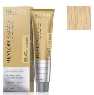 Revlon, Краска супра блондирующая Revlonissimo Colorsmetique Intense Blonde, 60 мл (10 оттенков) 1200