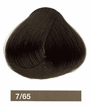 Lakme, Перманентная крем-краска Collage, 60 мл (99 оттенков) 7/65 Средний блондин коричнево-махагоновый фото