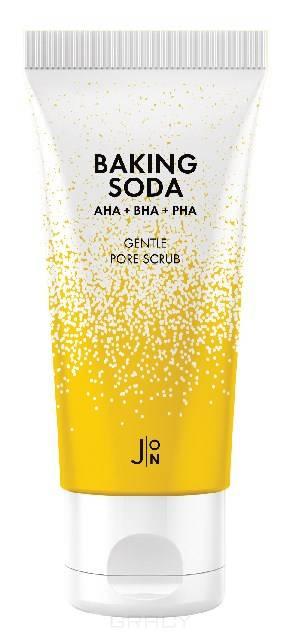 J:ON, Скраб для лица с содой Baking Soda Gentle Pore Scrub, 20 шт*5 г цена 2017