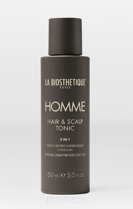 Купить La Biosthetique, Стимулирующий лосьон для кожи головы Homme Hair & Scalp Tonic, 150 мл