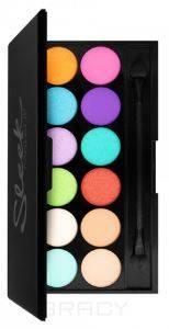 Sleek MakeUp, Тени для век в палетке Eyeshadow Palette I-Divine, 12 тонов (13 видов) тон Snapshot 732 цена