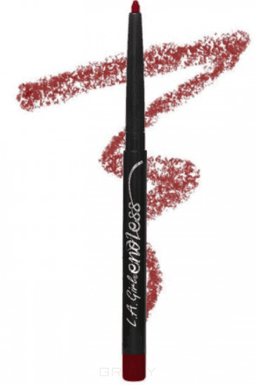 L.A. Girl, Автоматический карандаш для губ Endless Auto Lipliner, 2,8 гр (10 оттенков) Dark Plum