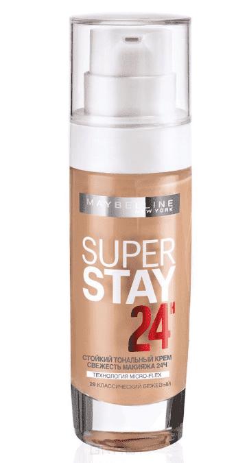 Maybelline, Тональный крем SuperStay 24ч, 30 мл (8 оттенков) 29 классический бежевыйДля лица<br><br>