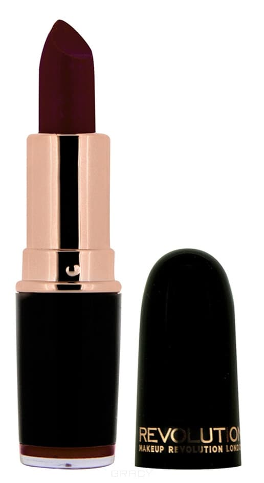 Купить MakeUp Revolution, Помада для губ Iconic Pro Lipstick, 3.2 гр (9 оттенков) Blindfolded