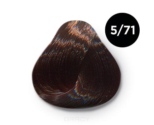 Купить OLLIN Professional, Перманентная крем-краска Ollin Сolor 60 мл ( 96 оттенков) 5/71 светлый шатен коричнево-пепельный
