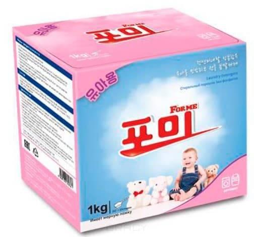 For Me, Laundry Detergent For Kids Стиральный порошок, для стирки детского белья, 1 кг цена