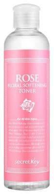 Secret Key, Rose Floral Softening Toner Смягчающий тоник для лица с розовой водой, 248 тоник secret key rose floral softening toner объем 248 мл