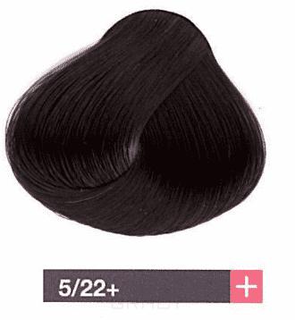 Lakme, Перманентная крем-краска Collage, 60 мл (99 оттенков) 5/22+ Светлый шатен интенсивный фиолетовый яркий lakme перманентная крем краска collage 60 мл 99 оттенков 5 30 светлый шатен золотистый
