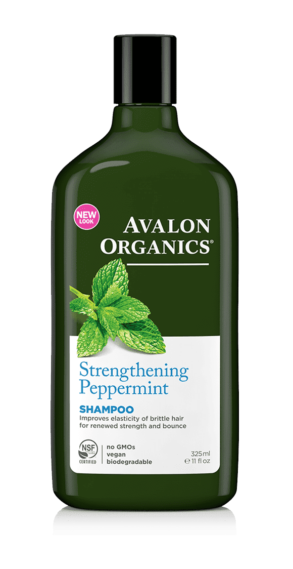 Avalon Organics, Шампунь с маслом мяты Pepermint Strengthening Shampoo, 325 мл avalon organics anti dandruff shampoo объем 400 мл