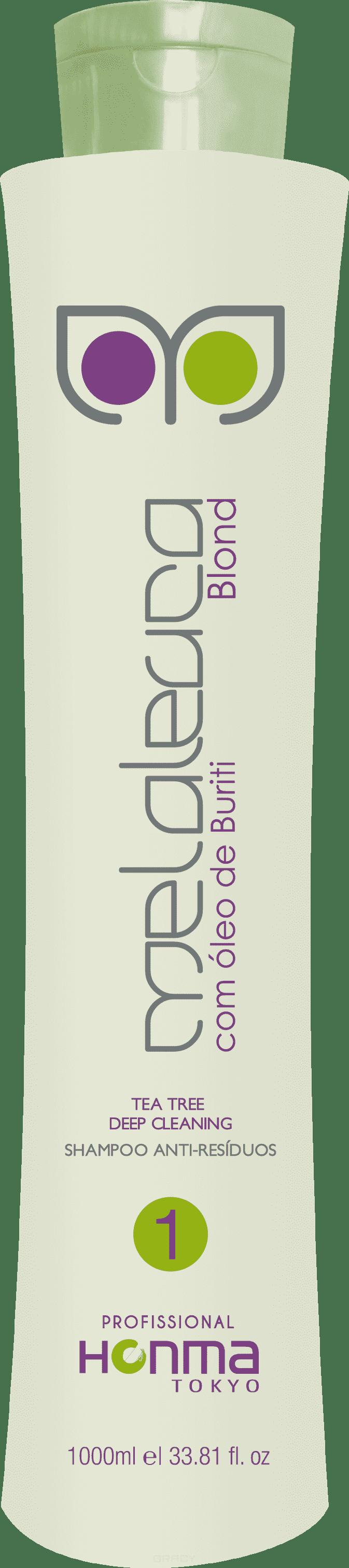 Подготавливающий шампунь Escova de Melaleuca Blond Шаг 1, 1 лШАМПУНЬ ГЛУБОКОЙ ОЧИСТКИ  Линии «MELALEUCA BLOND» был разработан с добавлением масел Чайного дерева и плодов Бурити, которые глубоко очищают волосы, подготавливая их к процедуре выпрямления Линии «MELALEUCA BLOND», в то же самое время заботясь о коже головы.&#13;<br>&#13;<br>  &#13;<br>&#13;<br>&#13;<br>ДЕЙСТВИЕ: Раскрывает чешуйки волос для проникновения следующего шага.&#13;<br>&#13;<br>&#13;<br>  &#13;<br>&#13;<br>&#13;<br>ПРИМЕНЕНИЕ: Нанесите на влажные волосы, мягко массируя голову до образования пены. Хорошо промойте волосы и повторите процедуру один или два раза, если это необходимо.&#13;<br>&#13;<br>&#13;<br>  &#13;<br>&#13;<br>&#13;<br>МЕРЫ ПРЕДОСТОРОЖНОСТИ: Храните в недоступном для детей месте. Не глотайте. При случайном попадании в глаза, обильно промойте их водой. Если раздражение развивается, прекратите процедуру и обратитесь к врачу. Защищайте от света и тепла. Для наружного использования.<br>