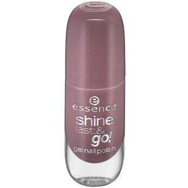 Essence, Лак для ногтей с эффектом геля Shine Last & Go, 8 мл (56 оттенков) №24, розово-коричневый фото