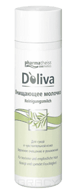 Doliva, Очищающее молочко, 200 мл doliva молочко для лица очищающее 200 мл