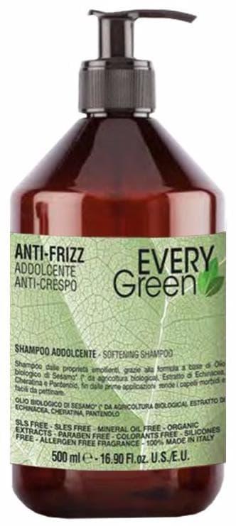 Купить Dikson, Шампунь для вьющихся волос Everygreen Anti-Frizz Shampoo Idratante, 1 л
