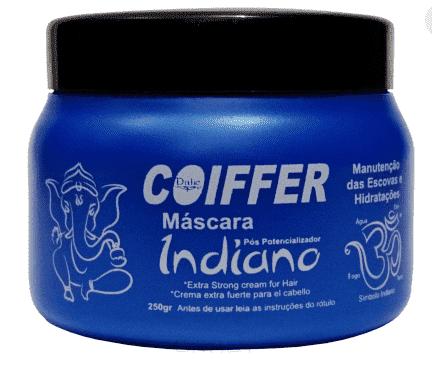 Coiffer,  Увлажняющая маска для волос Potencializadora Indiana Hidratacao, 250 гЩетки для волос<br><br>