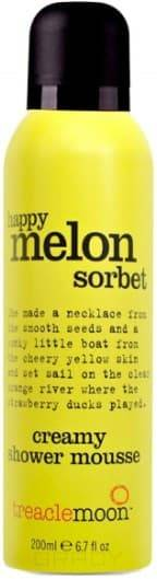 Купить Treaclemoon, Мусс для душа дынный сорбет Happy Melon Sorbet Shower Mousse, 200 мл