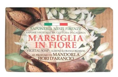 Nesti Dante, Мыло Миндаль и цветы апельсина Marsiglia in Fiore, 125 грГели для душа, мыло, скрабы<br><br>
