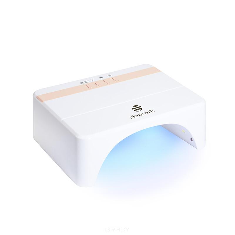 Planet Nails, LED/УФ лампа 24/48W Stripe белая led уф лампа 48w priority