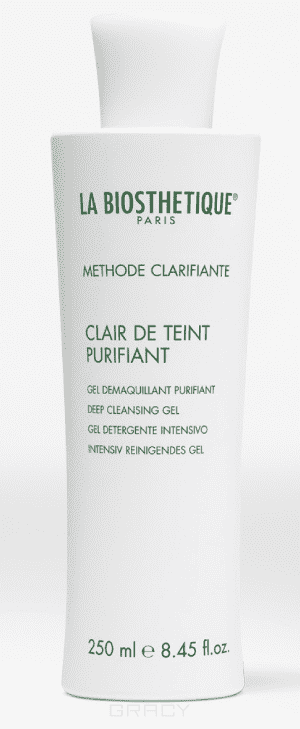 La Biosthetique, Освежающий очищающий гель Methode Clarifante Clair de Teint Purifiant, 250 мл rag