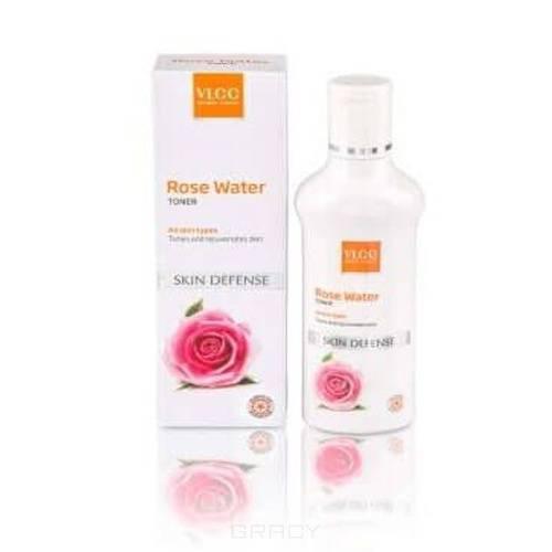 Освежающий тоник для лица Роза Skin Defense Rose Water Toner, 100 мл сто рецептов красоты тоник освежающий для лица увлажнение и свежесть сок алоэ 250 мл персик роза