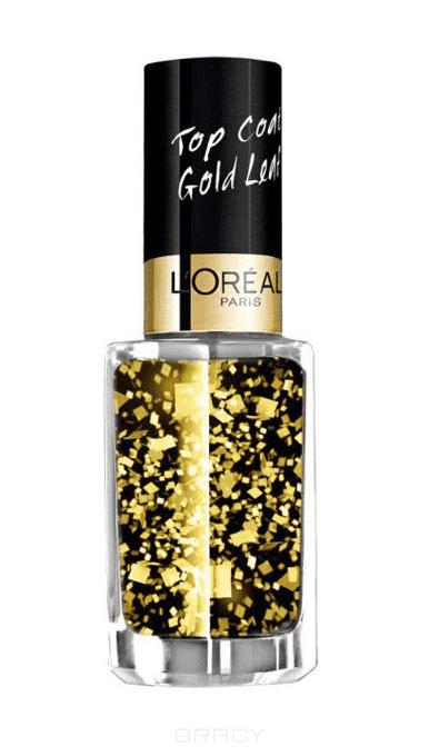 LOreal, Верхнее покрытие для ногтей Top Coat, 5 мл (13 оттенков) 920 Золотые листьяЦветные лаки для ногтей<br><br>