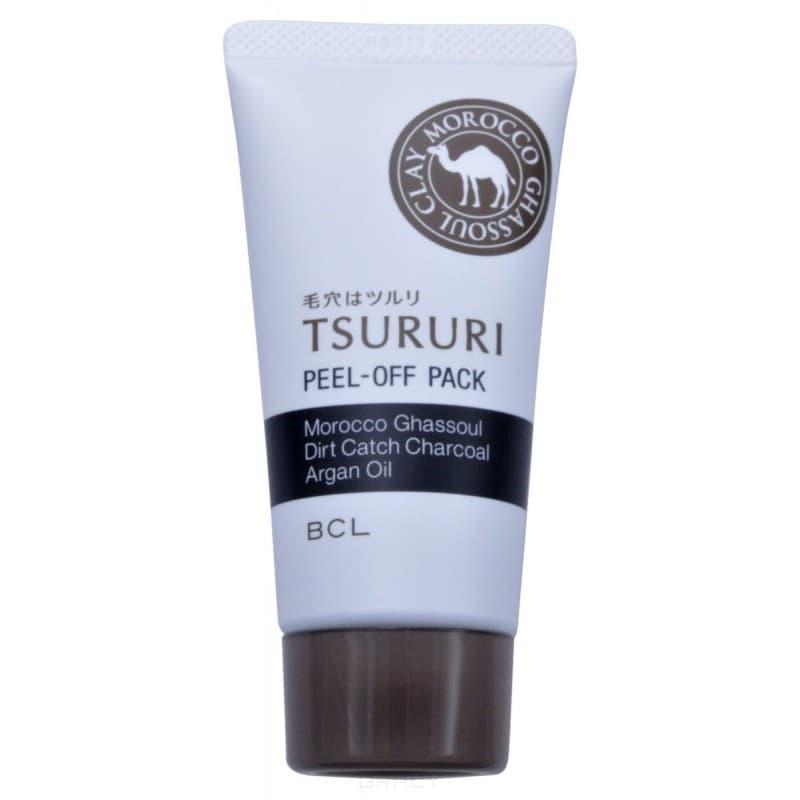 Купить BCL, Маска – пленка для очищения пор с глиной и древесным углем Tsururi Peel-Off Pack, 55 гр