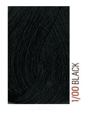 Купить Lakme, Перманентная крем-краска для волос без аммиака Chroma, 60 мл (32 тона) 1/00 Черный