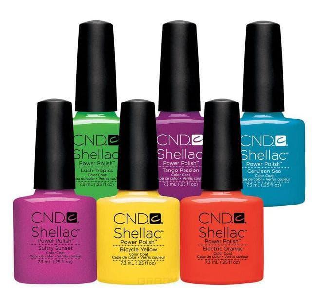 CND (Creative Nail Design), Гель-лак UV Shellac шеллак (58 оттенков) Romantique
