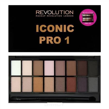 Купить MakeUp Revolution, Палетка теней для век Iconic Pro, 16 оттенков, Iconic Pro 2