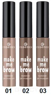 Тушь для бровей Make Me Brow Eyebrow Gel MascaraОписание:&#13;<br> &#13;<br> Цвет, объем и форма - 3 в 1! Гель содержит микро-волокна, которые заполняют пространство между волосками, обеспечивая идеальную форму и объем. Это отличный продукт для моделирования и прокрашивания самой ответственной части лица. Данный гель представлен в трех оттенках.&#13;<br> &#13;<br> Упаковка представляет собой компактный миниатюрный флакончик с чёрной крышкой.&#13;<br> Маленькая функциональная кисточка с небольшими ворсинками разного размера помогает придать волоскам дополнительный объём, хорошо прокрашивает волоски и равномерно отдаёт продукт. Оттенки обоих вариантов геля могут взаимодействовать между собой – поэтому рекомендуем вам приобрести оба цвета, чтобы наверняка создать свой идеальный оттенок путём смешивания.&#13;<br> &#13;<br> При помощи этого геля вы сможете качественно и профессионально прокрашивать волоски брови и укладывать их в необходимую форму. Не подойдёт продукт для очень непослушных бровей, а с остальными справляется легко и изящно. Продукт стойкий – моделируя брови утром, вечер...<br>
