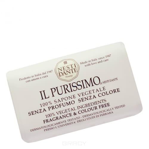 Мыло Нежное, 150 грМыло Nesti Dante &amp;amp;quot;IL Purissimo&amp;amp;quot; - растительное мыло, неповторимо нежное и мягкое, без красителей и отдушек. Идеально подходит для наиболее чувствительной кожи, оказывая природное увлажнение и защиту. Настоящая баня во время лечения!<br>