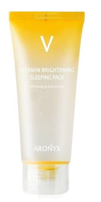 Купить Medi Flower, Тонизирующая ночная маска с витамином С Aronyx Vitamin Brightening Sleeping Pack, 100 мл