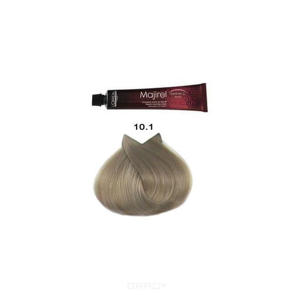 LOreal Professionnel, Крем-краска Мажирель Majirel, 50 мл (88 оттенков) 10.1 очень-очень светлый блондин пепельныйОкрашивание: Majirel, Luo Color, Cool Cover, Dia Light, Dia Richesse, INOA и др.<br><br>