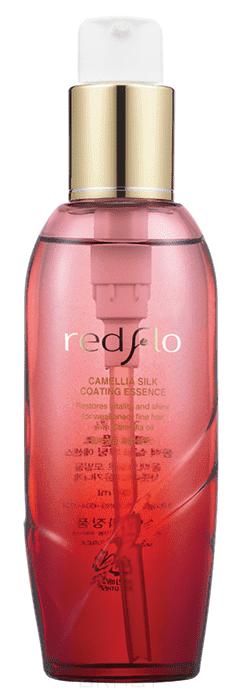 Flor de Man, Redflo Camellia Silk Coating Essence Питательная эссенция  камелией  протеинами шелка, 100 мл