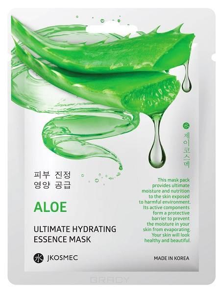 Купить Jkosmec, Ежедневная увлажняющая маска c экстрактом алоэ Aloe Ultimate Hydrating Essence Mask, 25 мл