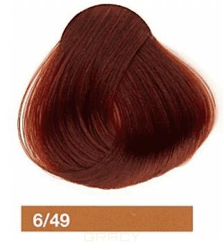 Купить Lakme, Перманентная крем-краска Collage, 60 мл (99 оттенков) 6/49 Темный блондин медно-красный