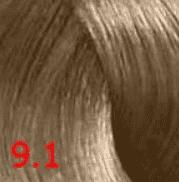 Купить Revlon, Перманентный краситель без аммиака Revlonissimo Color Sublime, 75 мл (51 оттенок) 9.1 очень светлый блондин пепельный