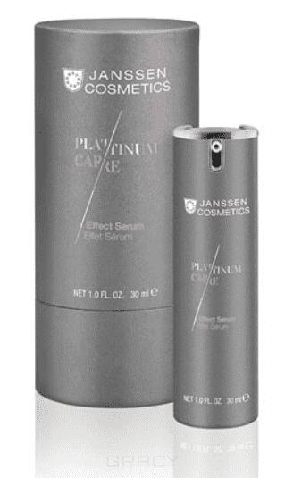 цена Janssen, Реструктурирующая сыворотка с коллоидной платиной Platinum Care, 30 мл