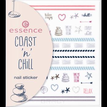 купить Essence, Наклейки для ногтей Coast 'n' Chill 01 Nail Sticker по цене 95 рублей