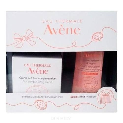 Avene, Набор для лица (крем+мицеллярный лосьон), 50/100 мл avene питательный компенсирующий крем 50 мл