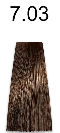 Купить Kaaral, Стойкая безаммиачная крем-краска с гидролизатами шелка Baco Soft Ammonia Free, 60 мл (42 оттенка) 7.03 натуральный золотистый блондин