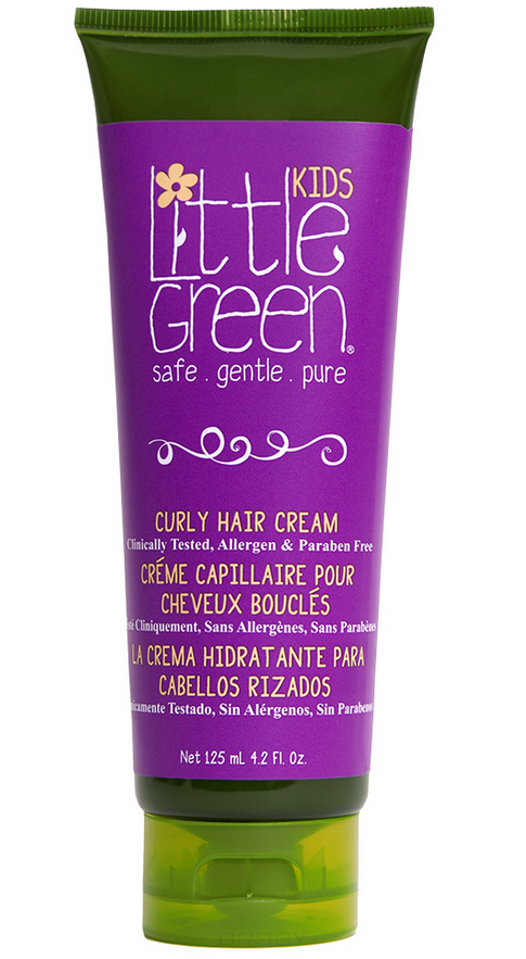 Купить Little Green, Крем несмываемый для кудрявых волос Curly Hair Cream, 125 мл